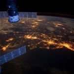 Amazing photo of the U.S. East Coast as seen from the International Space Station