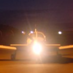 Australian UFO is aircraft with safety lights?