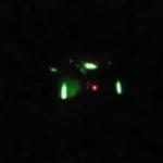 Blinking UFO over Sedona, Arizona