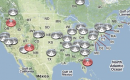 New feature: up-to-date UFO sightings map