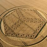 Amazing new crop circle appears in Wiltshire, UK
