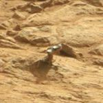 Curiosity stumbles upon another metallic-looking, shiny object on Mars