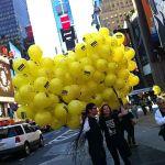 New York UFOs? Balloons.
