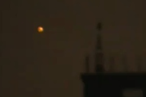 New footage of the orange, orb-like UFOs over Moscow