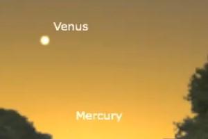 UFOs over Turkey actually planet Venus?