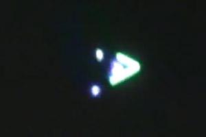UFO, RC airplane, or LED kite captured over Newnan, Georgia?